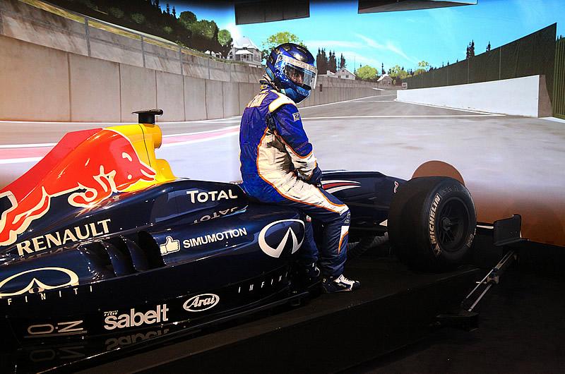 Simulateur Formule 1